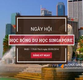 Ngày hội học bổng du học Singapore