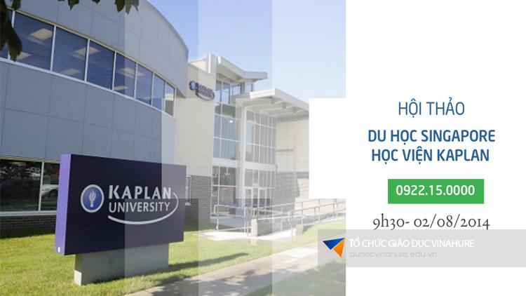 Hội thảo du học Singapore - Học viện Kaplan