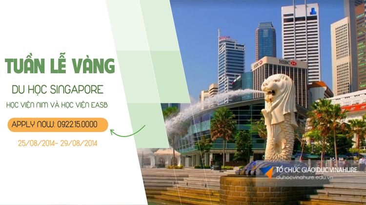Tuần lễ vàng du học Singapore