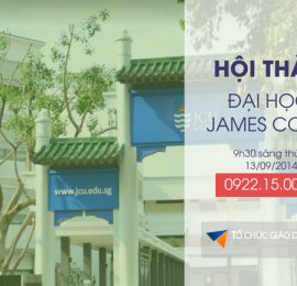 Hội thảo du học Singapore - trường James Cook