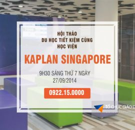 Hội thảo du học Kaplan Singapore