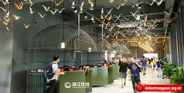 Canteen Đại học Hàng Châu