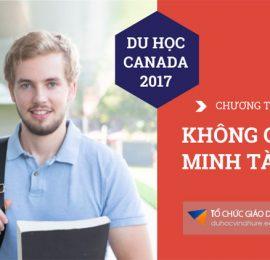 Du học Canada 2017 - Chương trình CES không chứng minh tài chính