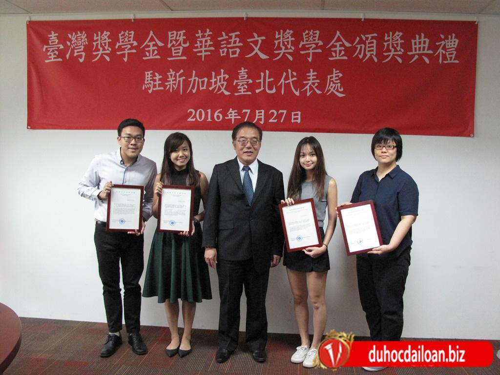 Học bổng toàn phần du học Đài Loan