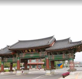 Học bổng Đại học Mokwon 2017