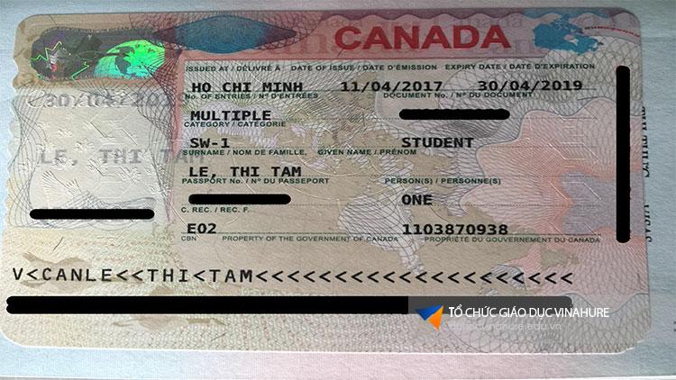 Visa Canada Lê Thị Tâm