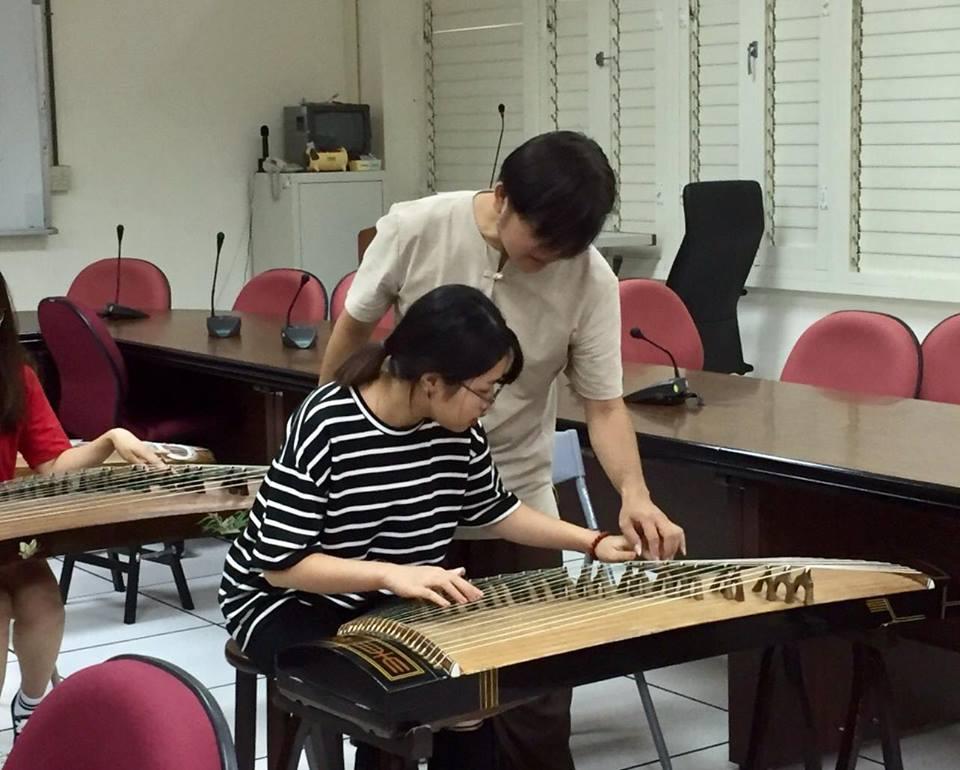Hình ảnh bạn Mạc Thị Thảo đang học tại trường Đại học Trung Hưng - Đài Loan.