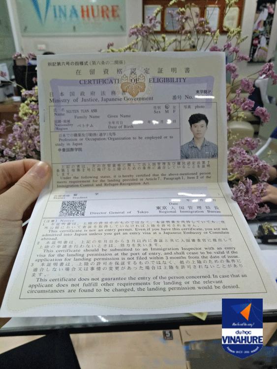 Visa du học Nhật Bản.