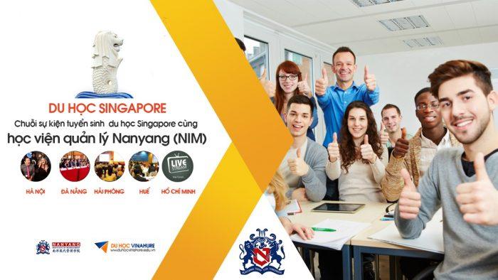 Chuỗi sự kiện du học trường Học viện Quản lý Nanyang