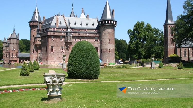 Đất nước Hà Lan với những lâu đài cổ