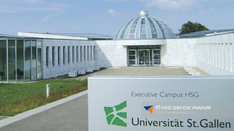 Học bổng du học Thuỵ Sĩ - trường St.Gallen
