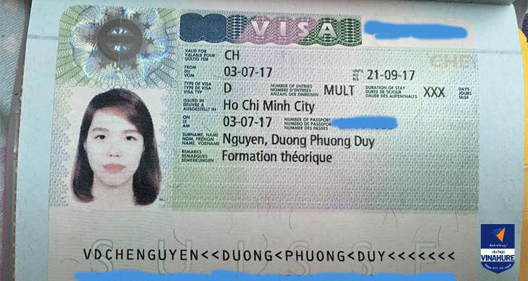 Visa Nguyễn Dương Phương Duy