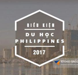 Điều kiện du học Philippines 2017