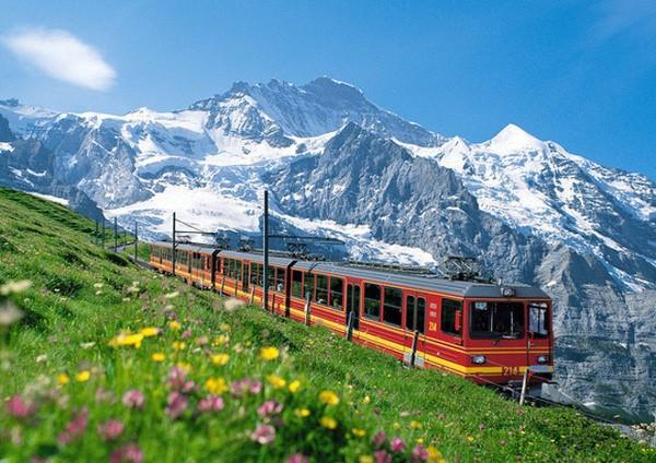 núi Rigi Thụy Sĩ
