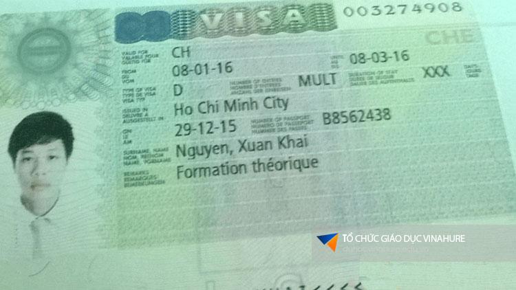 Visa du học Thụy Sĩ Khải