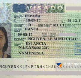 Visa nhập học trường Barcelona