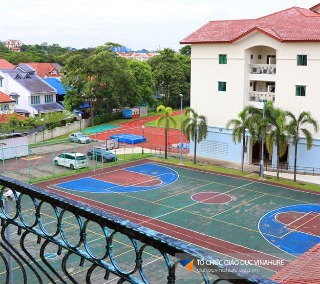 Phòng tương tác đặt tại mỗi tầng của Trường nội trú