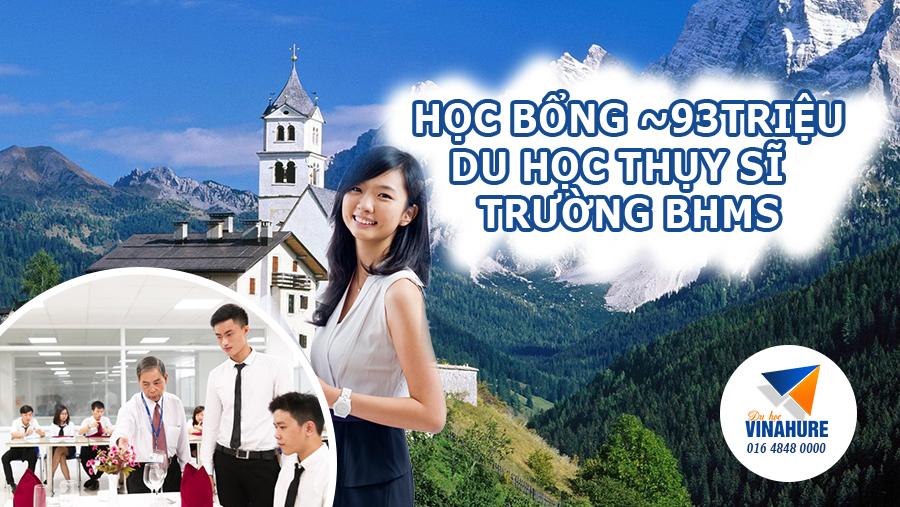 Học bổng 4000 CHF trường BHMS Thụy Sĩ
