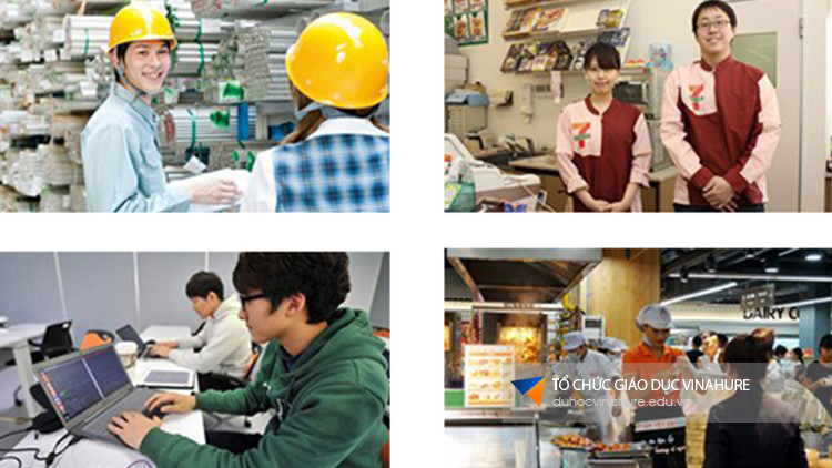 Việc làm cho sinh viên du học tại Nhật Bản
