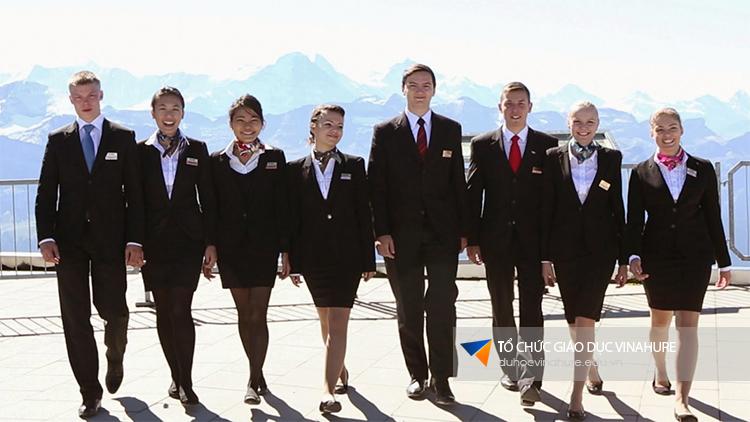 Cơ hội làm việc tại các nhà hàng, khách sạn nổi tiếng khi theo học tại Swiss IM&H