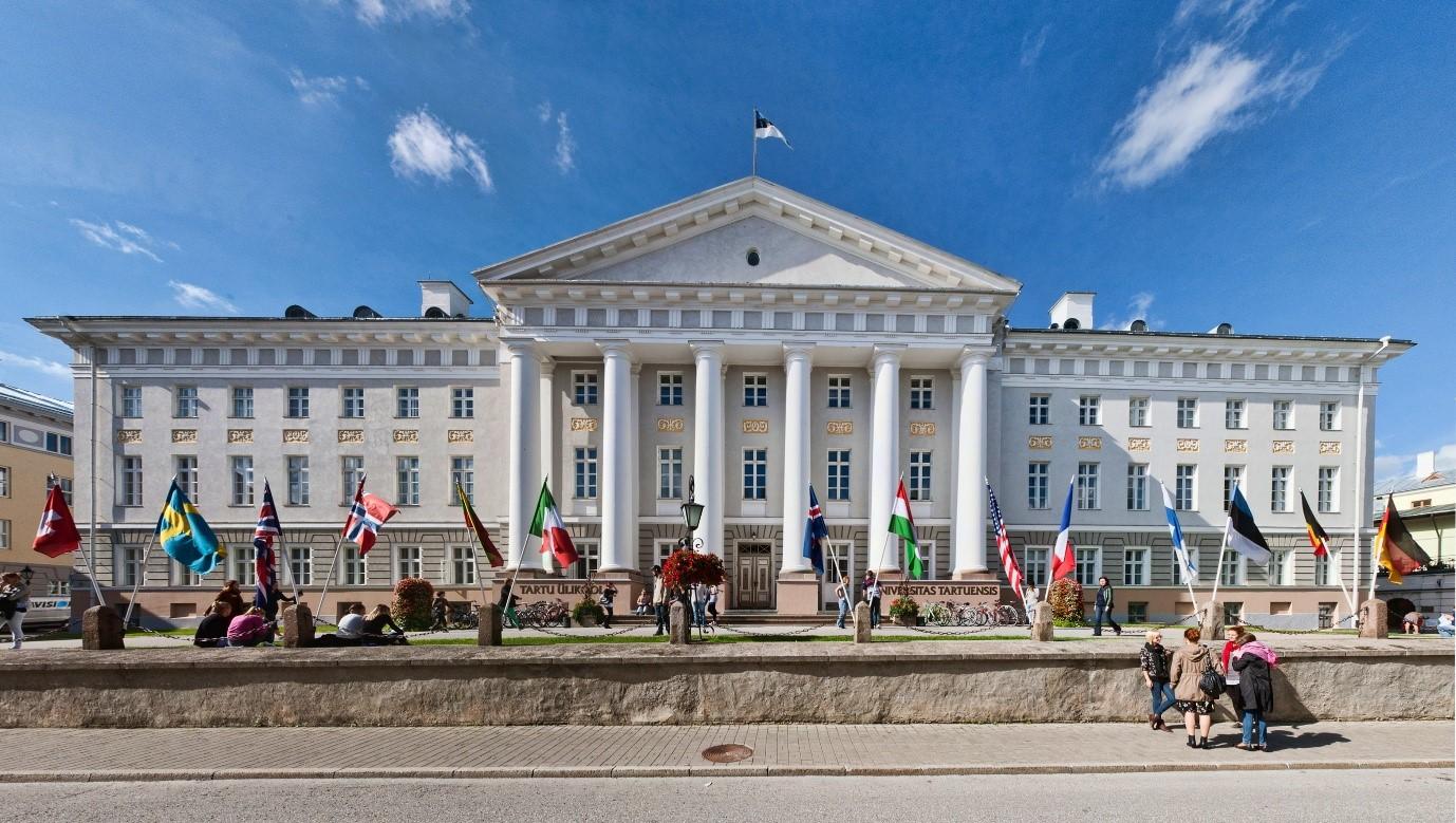 Các suất học bổng miễn phí của trường Đại Học Tartu, Estonia năm 2018