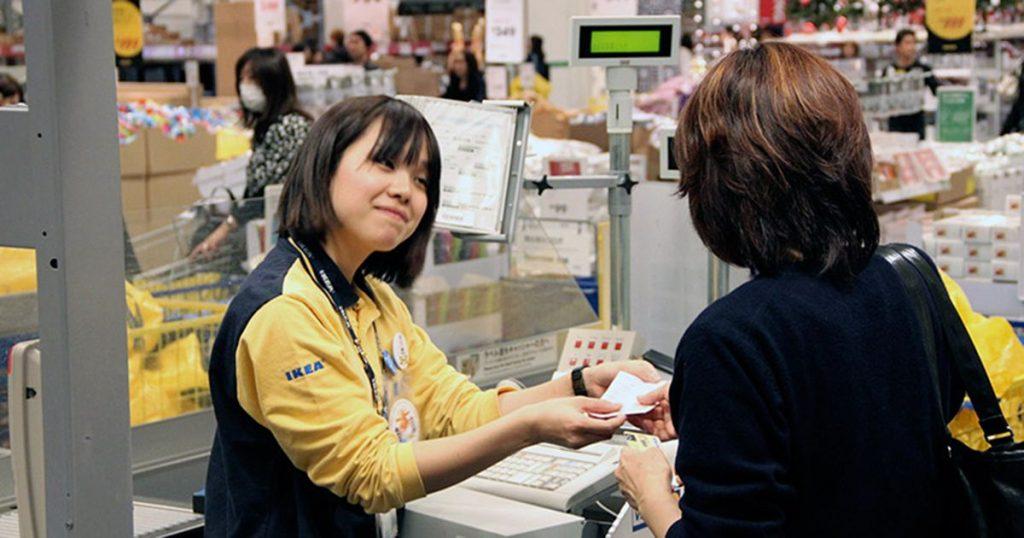 việc làm thêm phổ biến tại Nhật Bản.